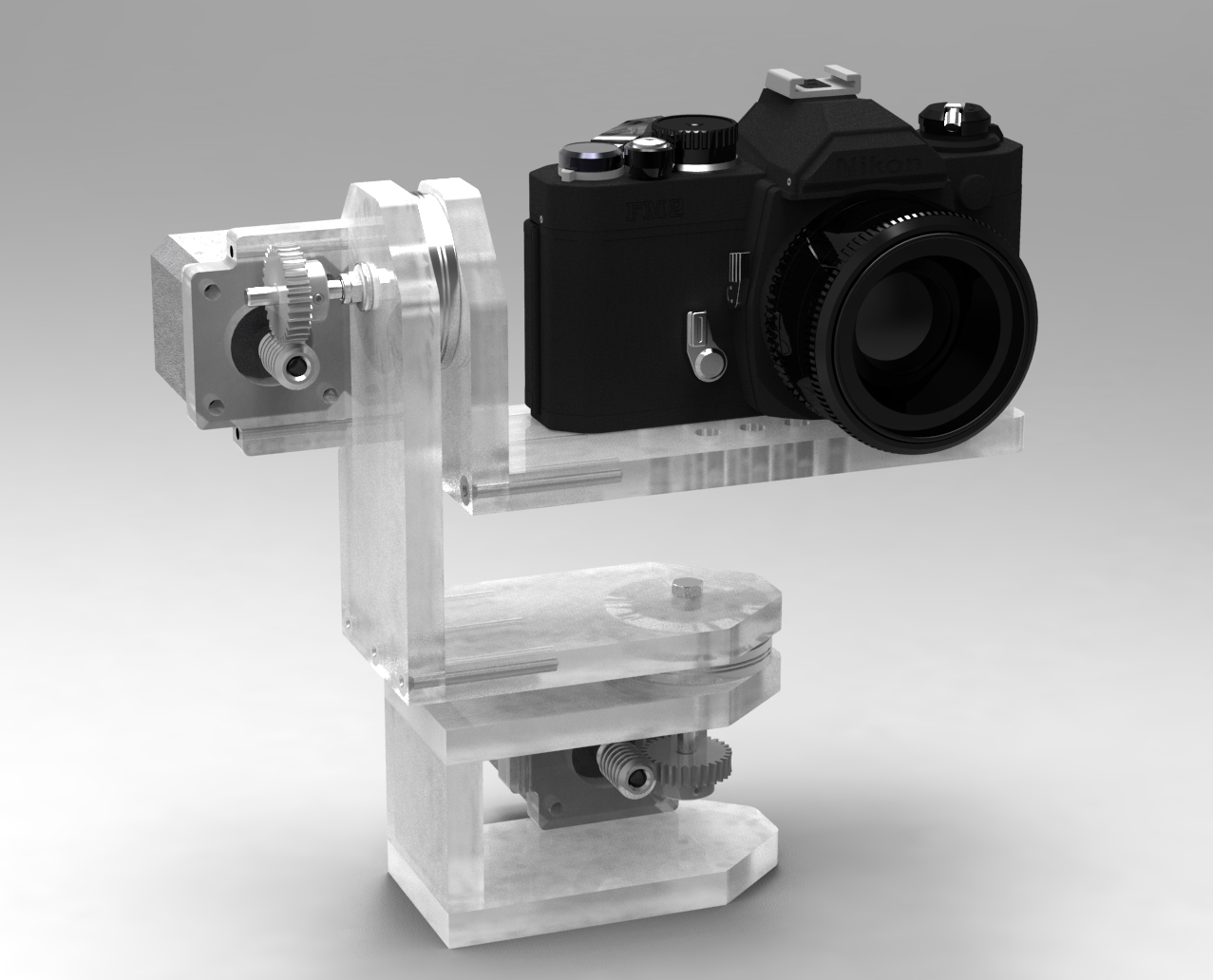 Archive diy arduino motorised time for Motorized video camera mount