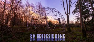 8m Conduit Geodesic Dome
