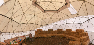 8m Conduit Geodesic Dome